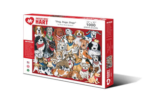 Image of 1000 Piece Dogs, Dogs, Dogs Puzzle