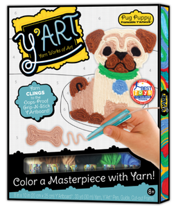 Image of Y'Art Pug Puppy arts and crafts packaging
