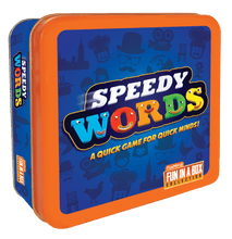Image of Speedy Words game tin