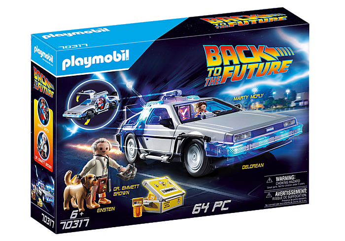 Image of Playmobil Delorean
