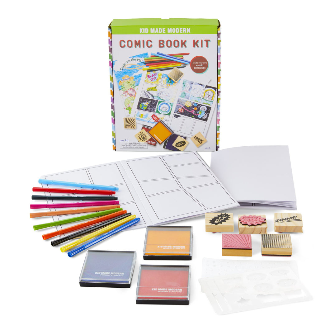 Image of Comic Book Kit and contents