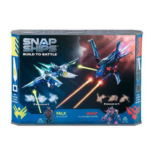 Image of Snap Ships Falx vs Wasp Battle Pack