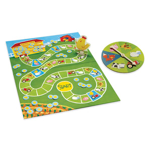 Image of Count Your Chickens game displayed with pieces