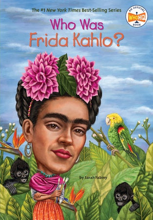Image of Who Was Frida Kahlo? Cover