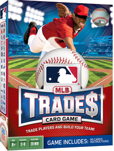 Image of MLB Trade$ Card Game packaging