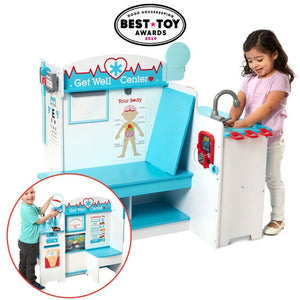 Image of children playing with Get Well Doctor Activity Center