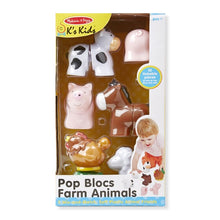 Image of Pop Blocs Farm Animals packaging