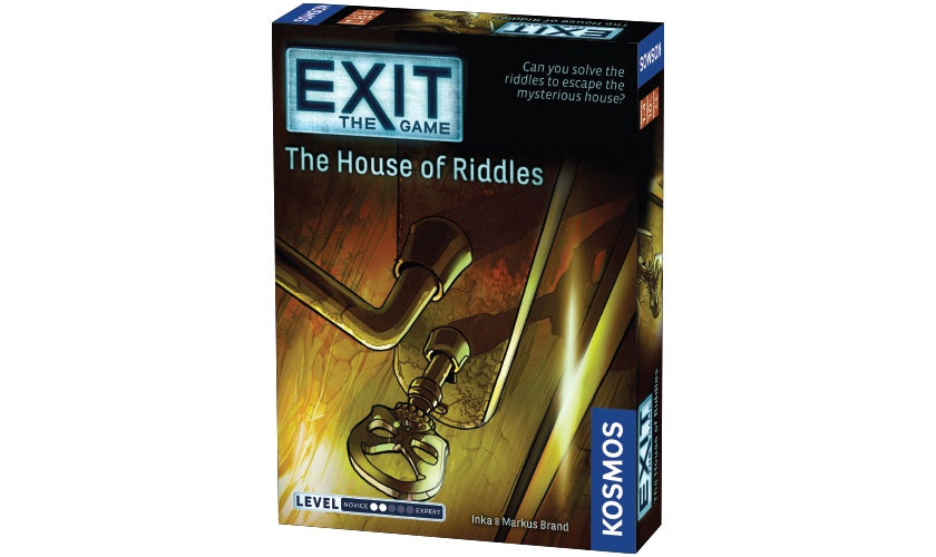 Image of EXIT: The House of Riddles Packaging