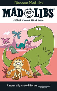 Image of Dinosaur Mad Libs cover