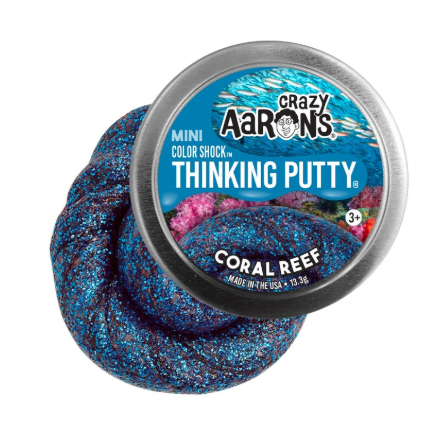 Image of Coral Reef Thinking Putty mini tin