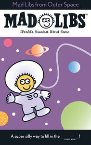 Image of Mad Libs from Outer Space cover