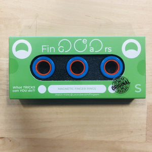 Image of FinGears - Small Blue/Orange in packaging