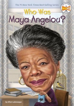Image of Who Was Maya Angelou? Cover