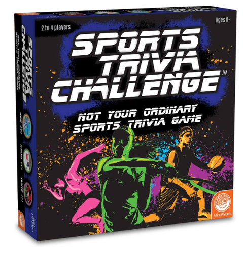 Image of Sports Trivia Challenge packaging