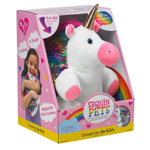 Image of Sparkles the Unicorn and Packaging