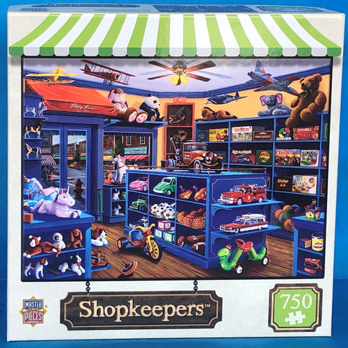 Image of Mary Lee's Toy Store puzzle packaging