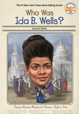 Image of Who Was Ida B. Wells cover