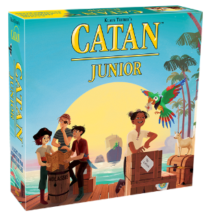 Image of CATAN Junior packaging