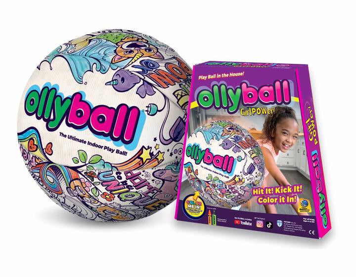 Image of Ollyball Girl Power and packaging