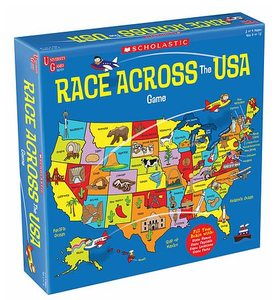 Image of Race Across the USA Board Game