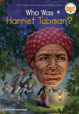 Image of Who Was Harriet Tubman? Cover