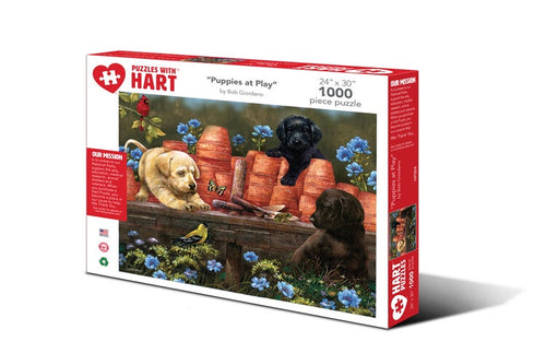 Image of 1000 Piece Puppies at Play Puzzle