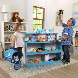 Image of children playing with Animal Care Pet Center (accessories not included)