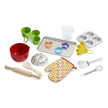 Image of items from Melissa & Doug Baking Play Set pieces