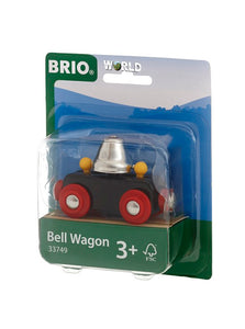 Image of Bell Wagon by BRIO in packaging