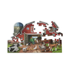 Image of Busy Barn puzzle pieces
