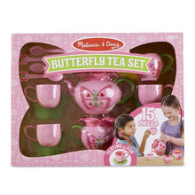 Image of Butterfly Tea Set by Melissa & Doug in packaging
