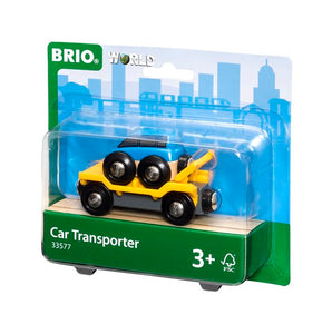Image of BRIO Car Transporter for Railway packaging