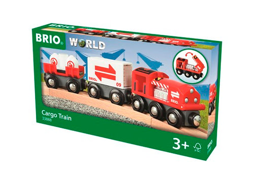 Image of BRIO Cargo Train packaging