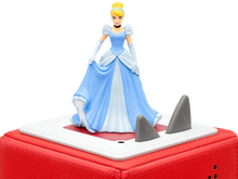 Image of Cinderella Tonie figure sitting on Toniebox (Sold Separately)