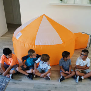 Image of children playing with Creamsicle AirFort