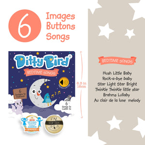 Image of Ditty Bird Bedtime Songs sell sheet