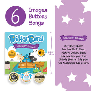 Image of Ditty Bird Nursery Rhymes sell sheet