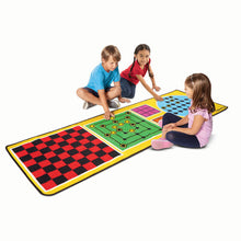 Image of children playing with 4 in 1 game rug
