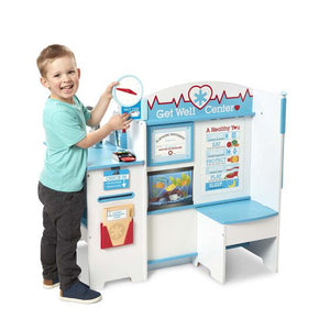 Image of child playing with Get Well Doctor Activity Center