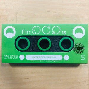 Image of FinGears - Small Green/Black in packaging