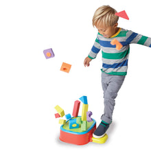 Image of child playing with KaBlocks Blast
