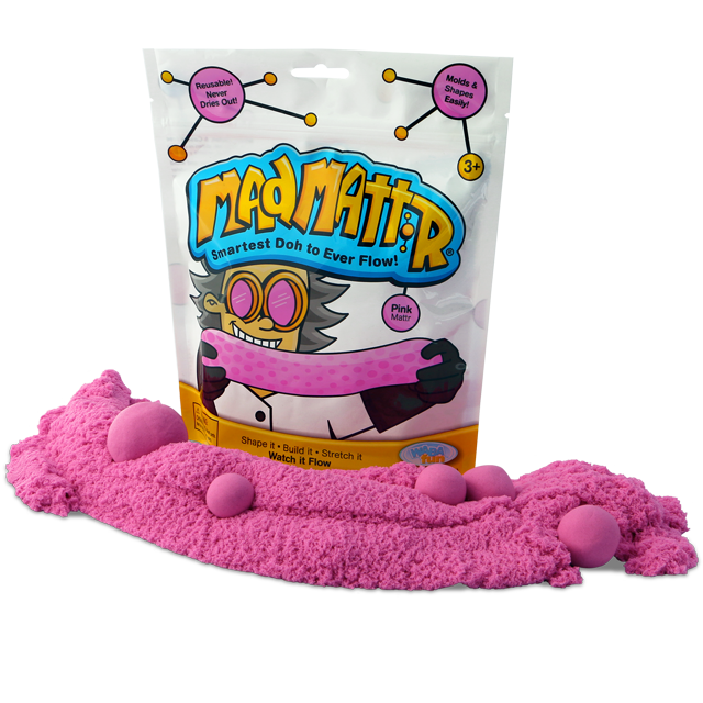 Pink Mad Mattr - Available at Little Lincoln's Toy Shop - The coolest toy store in Springfield, IL
