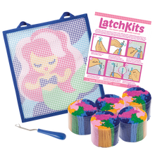 Image of Mermaid Latchkits components