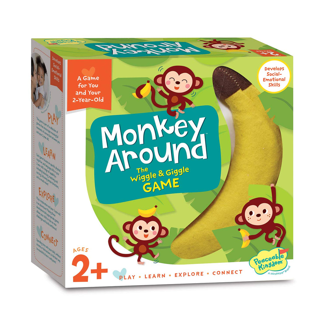 Image of Monkey Around board game packaging