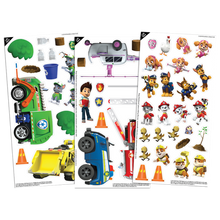 Image of Paw Patrol Colorforms components