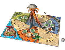 Image of Dinosaur Escape board and components