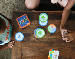 Image of children playing Speedy Words game