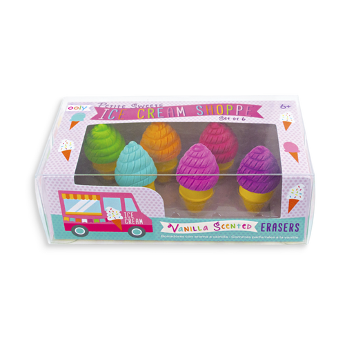 Image of Ice Cream Shoppe Erasers
