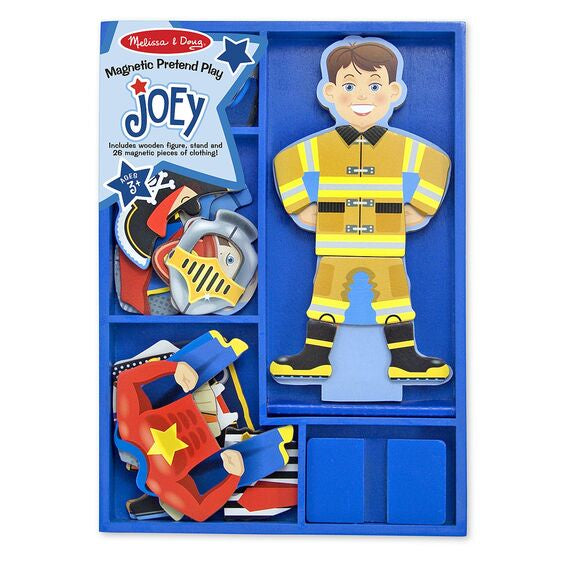 Image of Joey Magnetic Pretend Play and Packaging