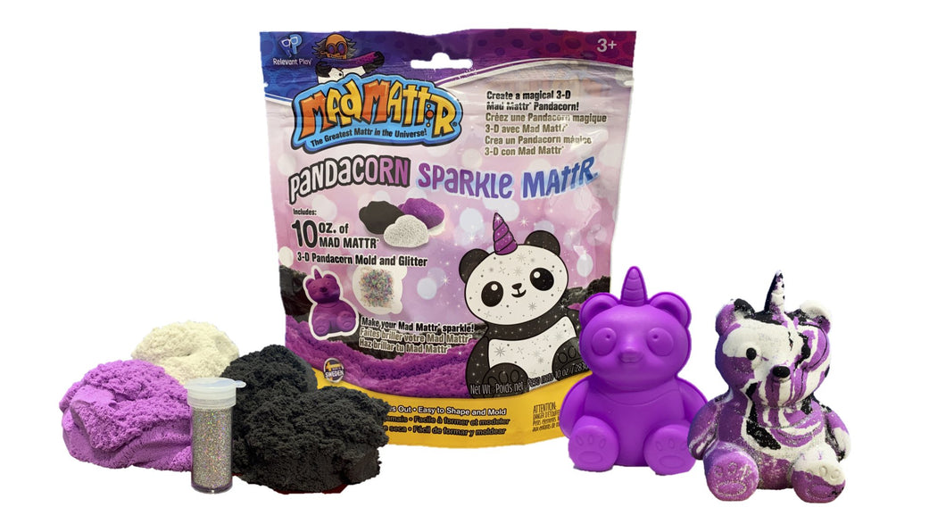 Image of Pandacorn Mad Mattr Contents and Packaging